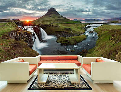 Maelifell Volcano Glacier Pa Full Wall Mural Photo Wallpaper Print Home 3D Decal