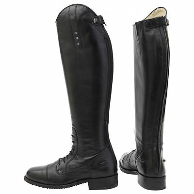 Horka Competition Excellent Boots - Ladies Horse Riding Leather Strap Closure