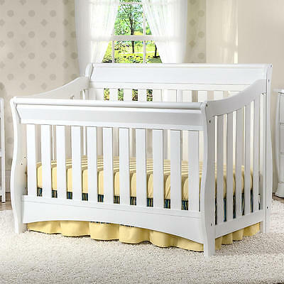 Delta Children Bentley 'S' Series 4-in-1 Convertible Crib - White