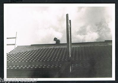 FOTO PHOTO, Dachdecker Baustelle roofers building site chantier couvreurs /88r