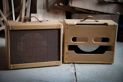 5E3 Tweed Deluxe cabinet (amplifier and speaker NOT included)