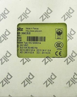 PILZ P2HZ5 24 VAC 2S 20 Safety Control Relay 474380 P2HZ 5