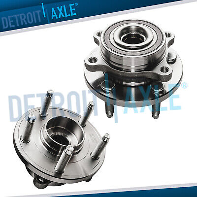 Set of (2) New Rear Wheel Hub and Bearing Assemblies for Ford and Lincoln