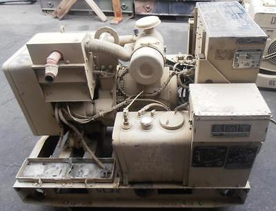 Onan Air Cooled 5 KW Genset. Military model no. MEP002A