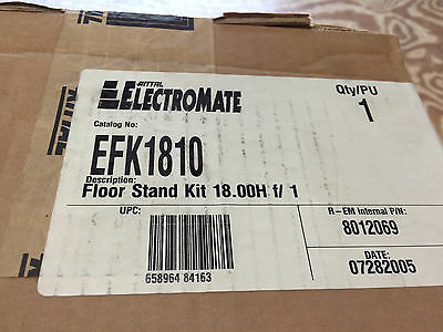 "Rittal Efk1810 Afk1810 18""h X 10""w Floor Stand Kit For Electrical Enclosure"