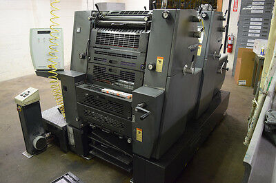 Heidelberg PM GTO52-2 Year 2001 Used Printing Press GTO 2 Color Printmaster