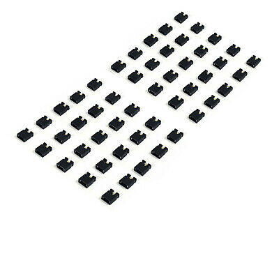 Lot de 50 jumpers / cavaliers noir pas de 2.54mm - Arduino, raspberry, ramps ..