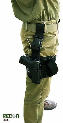 Glock Tactical Drop-Leg Holster Level 2 Whit Thumb Release by RECON TEAM