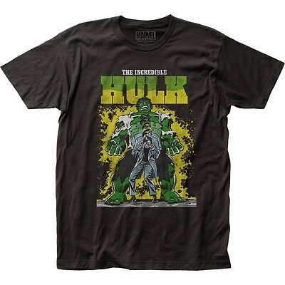 Official Marvel Comics The Incredible Hulk Transforming Vintage Distress T-shirt