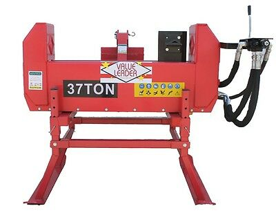 37Ton Dual~Split Log Splitter Cat.I 3pt w/4-Way Wedge & PTO Powered (LS37TDPTO)