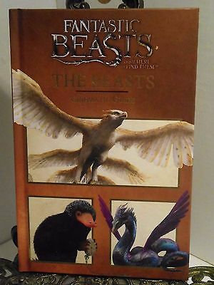 2017 Fantastic Beasts and Where to Find Them Cinematic Movie Guide 1st Magical