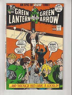 Green Lantern #89 (Apr-May 1972, DC)/Bronze Age Comic/Last Neal Adams/NM+