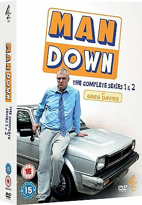 Man Down - Complete Series 1 and 2: New DVD Box Set - Greg Davies