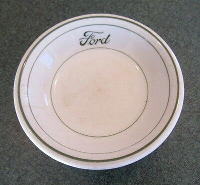 Vintage Sterling China Ford Motor Company Cafeteria Fruit Dish