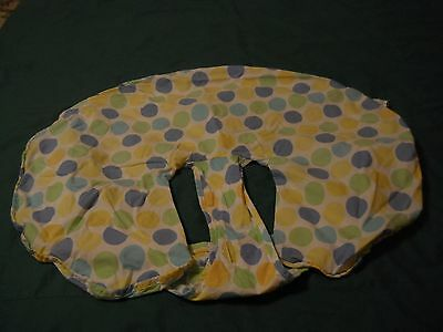 circle boppy cover with straps
