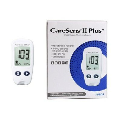 CareSens2 Plus Blood Glucose Monitoring System Test Strips Complete Kit Lancets