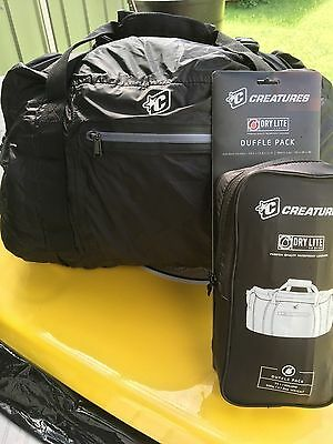 New Creatures Dry lite waterproof duffle bag/back pack wetsuit/swimming