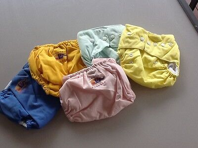 14 x PINK PUL WATERPROOF POCKET NAPPY COVER**NEW**