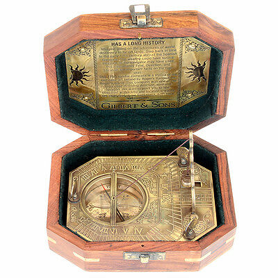 Sundial Compass - Gilbert & sons  octagonal hanging ball