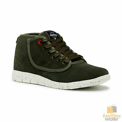DUNLOP VOLLEYS Volley Men's SPEED CUT Sneakers Casual Lace Up Suede Shoes