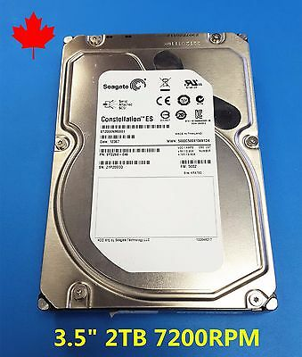 "Seagate Constellation ES 6Gb/s SAS 2TB 7200RPM 3.5"" ST2000NM0001 HDD"