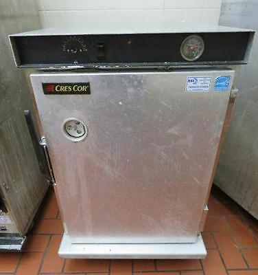 CRES COR H-339-12-188C Full Size Sheet Pan Heated Cabinet holding hot warmer box