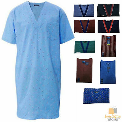 ASSORTED NIGHT SHIRTS Cotton Rich Pyjamas PJs Sleepwear Nightie Gown BR12
