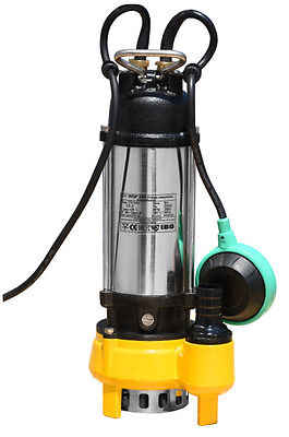 IBO WQF250W Submersible Electric Sewage Dirty Water Pump Float Switch SMALL pond