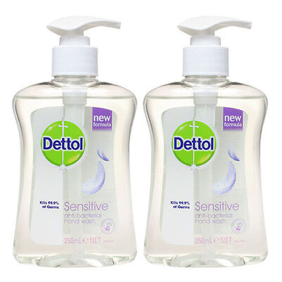 Dettol Anti-Bacterial Hand Wash Sentitive x2