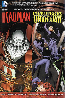 Deadman & Challengers of the Unknown Vol 1 DC Universe Presents 2012 TPB DC N52
