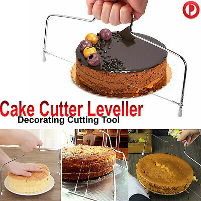Wire Slicer Cake Cutter Leveller Leveler Decorating Cutting Decorator Tools