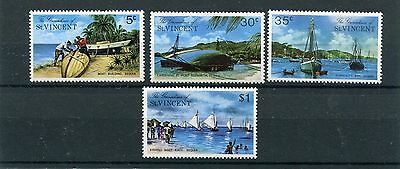 st vincent and grenadines 1974 turismo 30-33 MHN