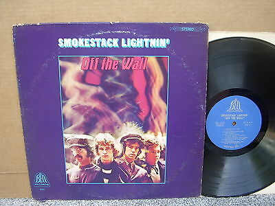 SMOKESTACK LIGHTNIN' - OFF THE WALL Orig Bell 6026 LP US 60s PSYCH ROCK rare!