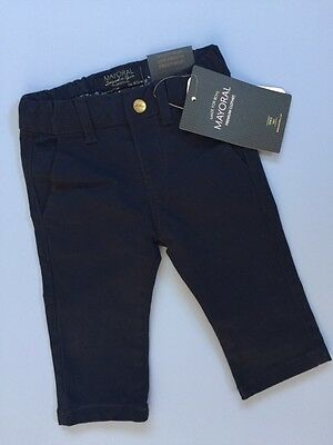 Spanish Designer MAYORAL Baby Boys Navy Blue Trousers Were £32 Now £16 SALE !!