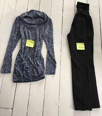 Oh Baby by Motherhood Maternity sweater and black pants