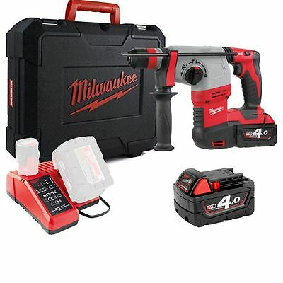 Milwaukee HD18HX-402C Compact 3-Mode SDS Plus 18v Cordless Hammer Drill Kit M18