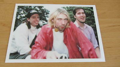 Nirvana Heart shaped box Flexi Picture Disc Postcard Poland