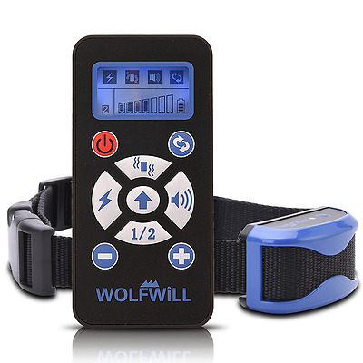 WOLFWILL Dog Training Collar 800 Yards E-Collar Waterproof & Rechargeable, Beep