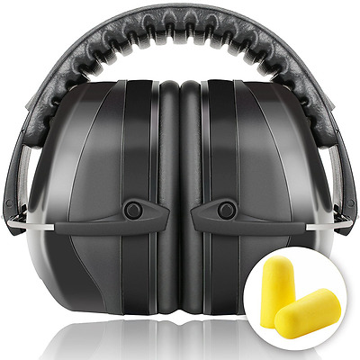 Fnova 34dB Highest NRR Safety Ear Muffs - Professional Ear Defenders for Shootin
