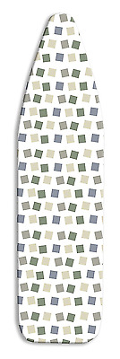 Whitmor 6614-833 Deluxe Ironing Board Cover and Pad, Modern Blocks