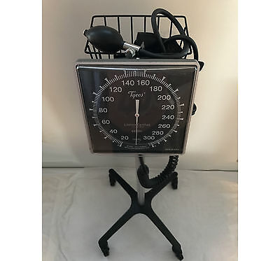 Welch Allyn Tycos 509 Mobile Aneroid Sphygmomanometer (Blood Pressure W/ Stand)