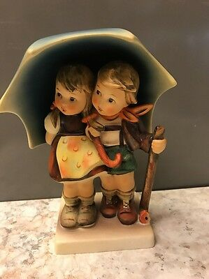 West Germany MJ Hummel Goebel Stormy Weather Figurine 71 TMK5 Signed KA
