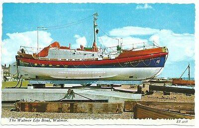 Vintage Postcard. The Walmer Lifeboat. Unused. Ref:73619