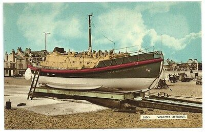 Vintage Postcard. The Walmer Lifeboat. Unused. Ref:73618
