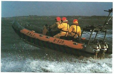 Vintage Postcard. R.N.L.I. Atlantic 21 Class Lifeboat. Used.  Ref:73625