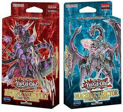 Yu-Gi-Oh! Machine Reactor & Dinosmashers Fury Structure Decks