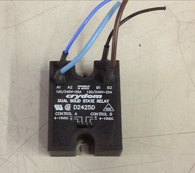 Crydom Dual Solid State Relay D2425D