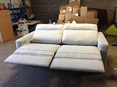 Remarkable Pottery Barn West Elm Henry Electric Power Recliner Loveseat Caraccident5 Cool Chair Designs And Ideas Caraccident5Info