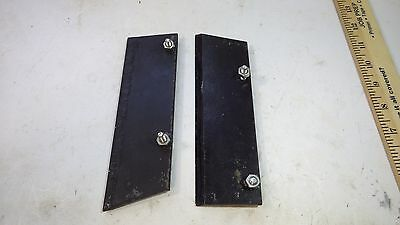 """2 Continental Belton 14"""" post hole digger auger blades edge tooth hard surface"""