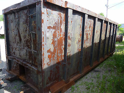 40 Yard Rolloff Dumpster Waste Roll off Container